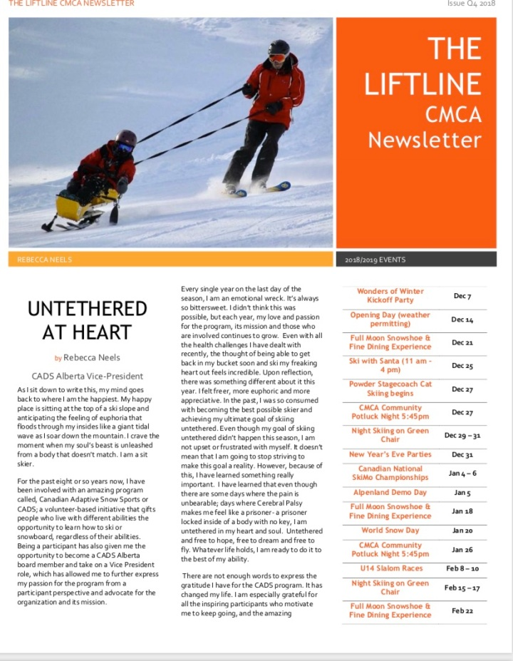 LiftLine Front Page